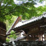 鈴虫寺(山門)